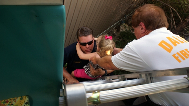 Dallas Zoo Monorail Rescue
