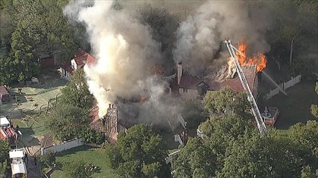 [DFW] Massive 3-Alarm House Fire in Dallas