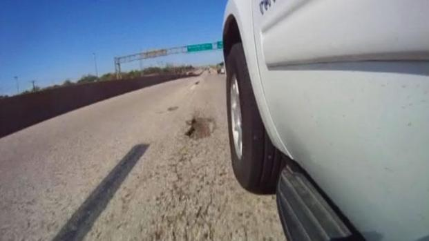 [DFW] State Highway 183 Riddled With Potholes
