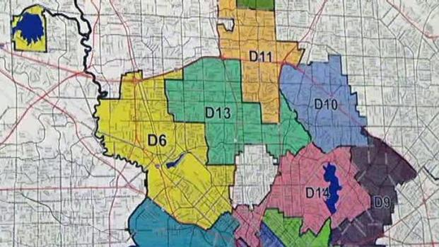 [DFW] City Council Hears From Public on Redistricting Proposals