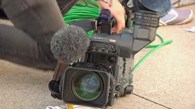[DFW] Japanese Journalists Prepare for Darvish