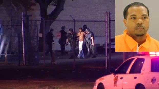 [DFW] RAW VIDEO: Escapee Who Stole Deputy's Weapon Surrenders