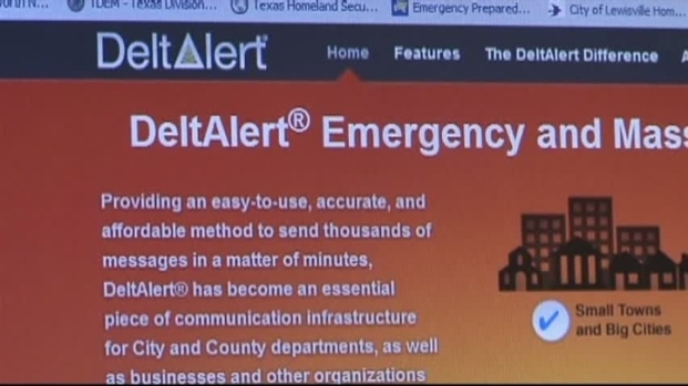 [DFW] New System Notifies Residents of Emergencies