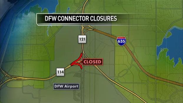 [DFW] Avoid Area North of DFW Airport This Weekend