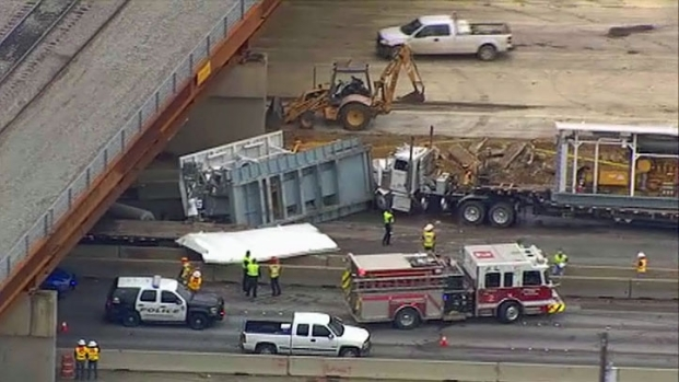 [DFW] Accident Involving Several Big Rigs Closes 360