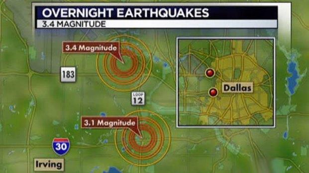 [DFW] Quakes Rattle North Texas Saturday Night
