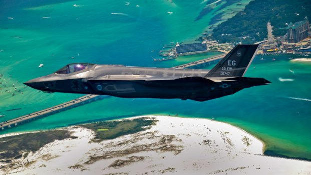 F-35 Delivered to Air Force Base