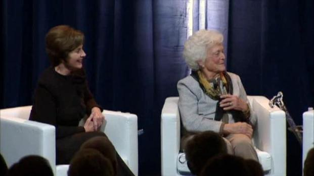 [DFW] Former First Ladies Talk Life in White House