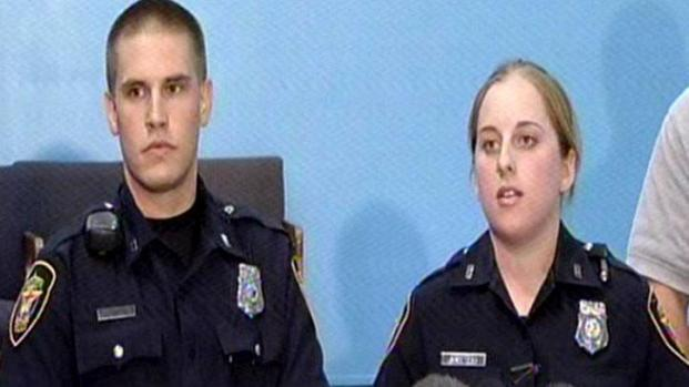 [DFW] Officers Bell, Stewart Recall Saving Woman