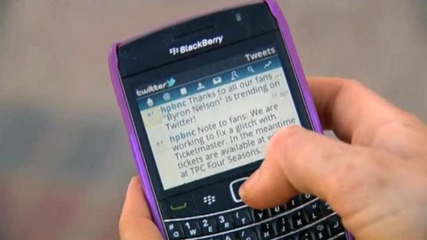 [DFW] Byron Nelson Embraces Cellphones