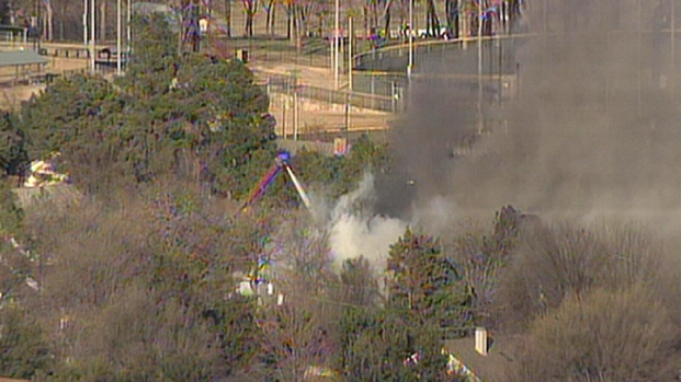 Crews Battle Grapevine House Fire