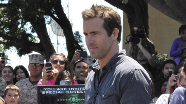 Ryan Reynolds Visits US Marines