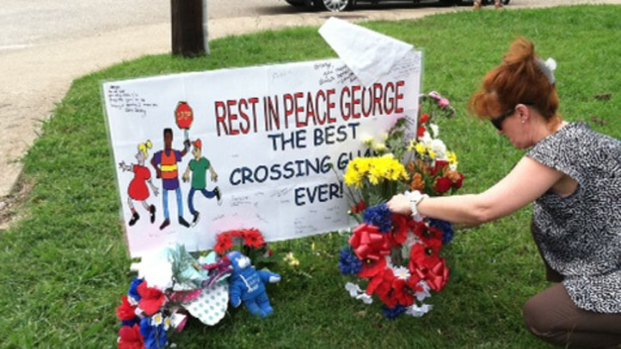 Kids Hold Benefit for Favorite Crossing Guard