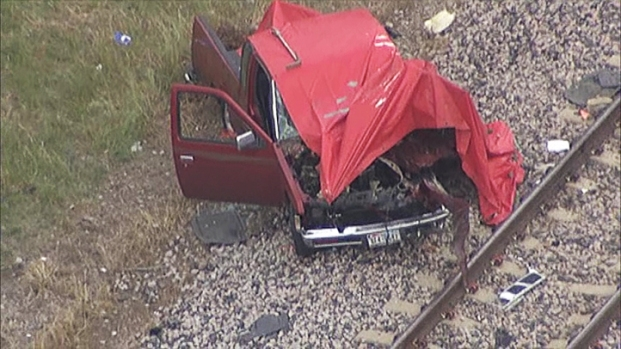 [DFW] One Dead After Train and Truck Collide in Irving