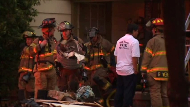 [DFW] Firefighters: Lightning Could Have Sparked House Fire