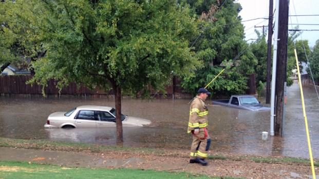[DFW] Saturday Storms Cause Flooding