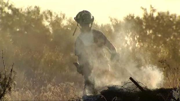 [DFW] Fast-Moving Fire Threatened Hunt County Homes