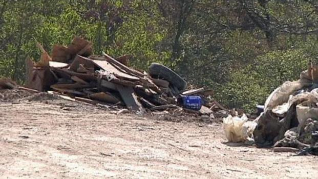 [DFW] Illegal Dump Site Clean Up Under Way