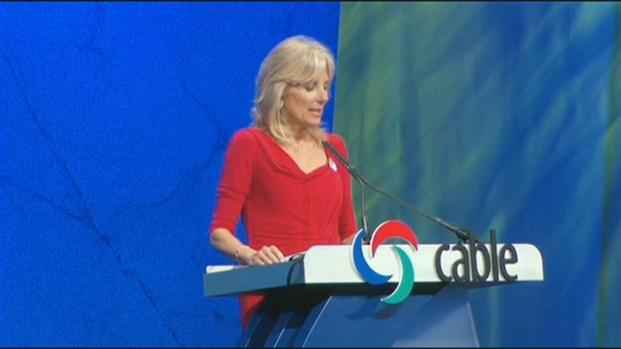 [CHI] Dr. Jill Biden Lauds Cable Industry's Activism for Blue Star Families
