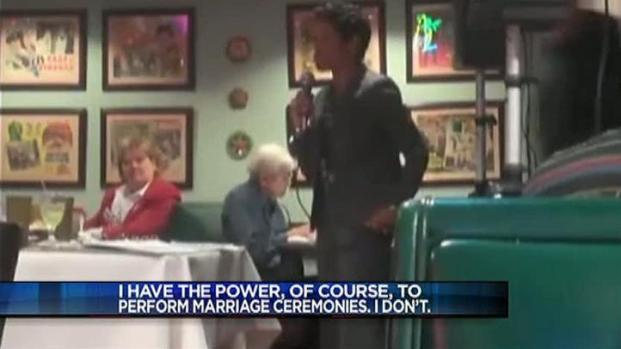 [DFW] Judge's Decision Not to Perform Marriages Draws Fire