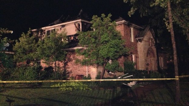 [DFW] Lightning Blamed for Keller House Fires