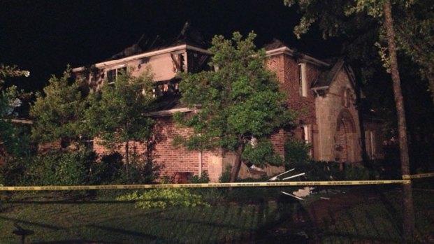 [DFW] Lightning Blamed for Keller House Fires