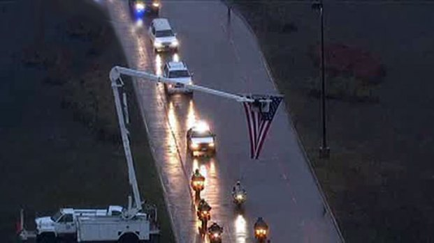 [DFW 1-4] Kyle's Emotional Procession Begins in Midlothian