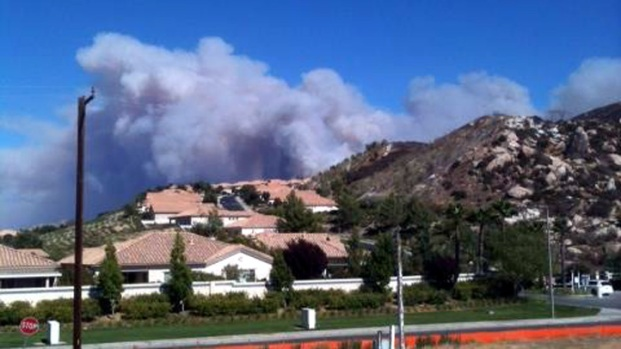 [VIEWER PHOTOS]Viewer Images: Riverside County Silver Fire