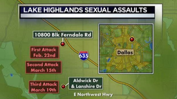 [DFW] Search Continues for Lake Highlands Rapist
