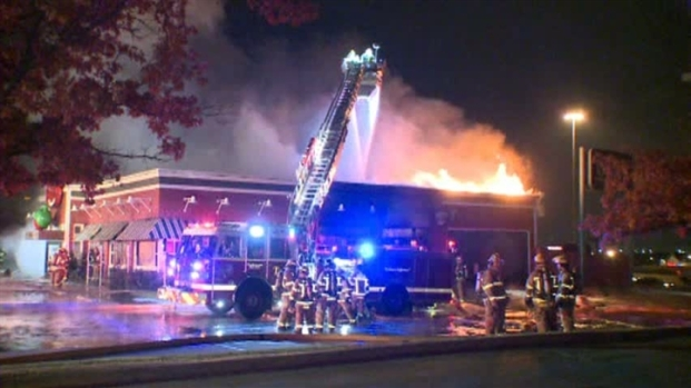 [DFW] Chili's in Mesquite Catches Fire