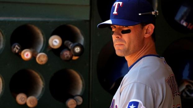 Texas Rangers' Michael Young in Photos