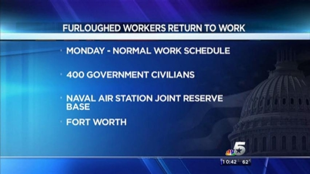 [DFW] NASJRB Civilian Employees Return To Work Monday