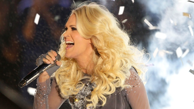 [NATL] Behind the Scenes: Carrie Underwood's Sunday Night Football Theme