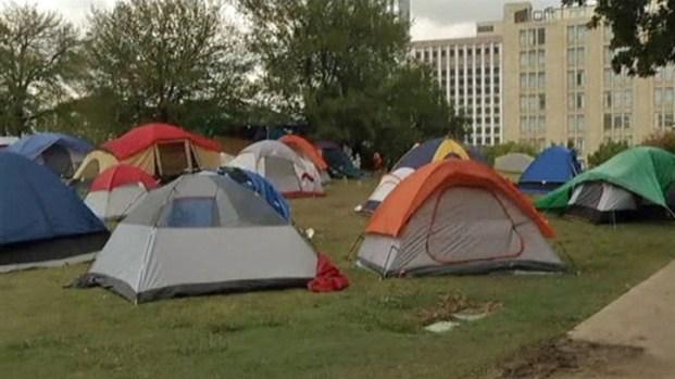 "[DFW] ""Occupy Dallas"" Wants to Occupy Overnight"