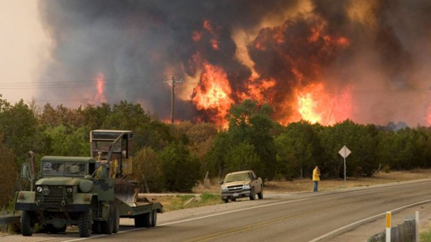 Viewer Photos: PK Fire - Aug. 30, 2011