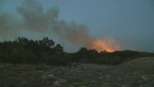 [DFW] Fire Crews Make Progress Against 101 Ranch Fire