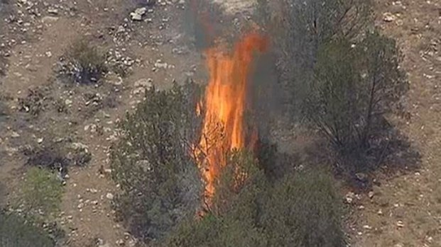 [DFW] Palo Pinto Fires Burn Hundres of Acres