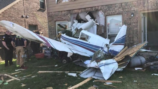 [DFW] Small Plane Crashes into Home in McKinney