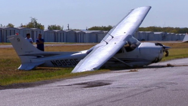 [DFW] Plane Hits Car At Roanoke Airport