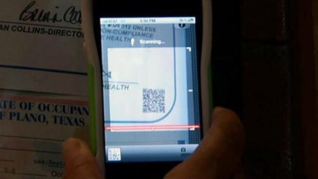 [DFW] Plano Restaurant Permits Include QR Codes