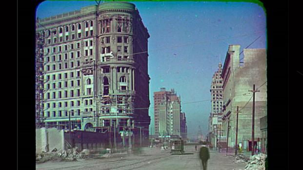 1906 Color Photographs From San Francisco