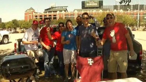 [DFW] Texas Rangers Fans Tailgate