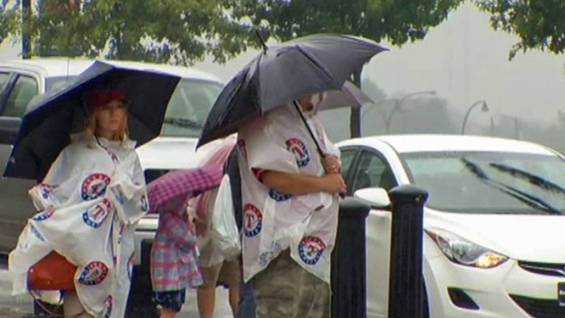[DFW] Rain Delays Rangers, State Fair Events