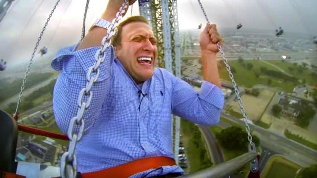 [DFW]Jeff Smith Rides Six Flags' SkyScreamer