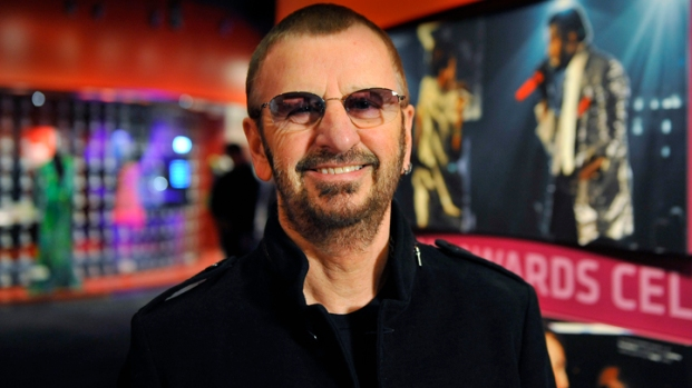 [AP] Ringo's Peace and Love Exhibit