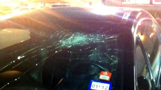 [DFW] Man Smashes Woman's Windshield With Bare Hands