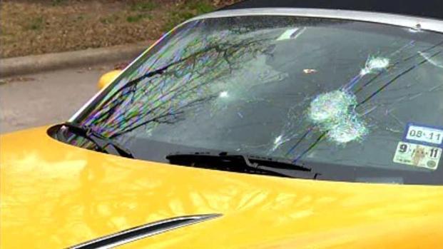[DFW] Man Pummels Shopper, Car With Rocks