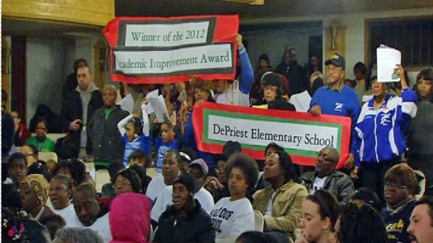 [CHI] West Siders Rally Against School Closings