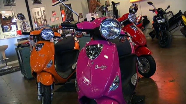 [DFW] Dallas Scooter Shop Sees Increase in Sales