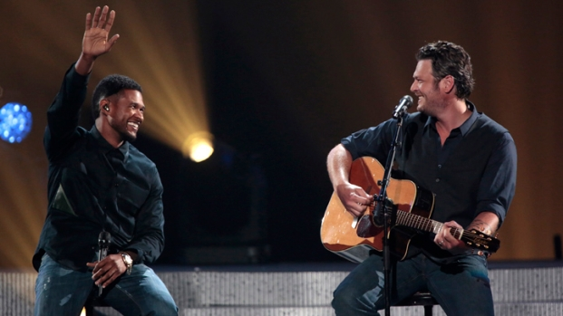 [NBCAH] Blake Shelton on Performing with Usher